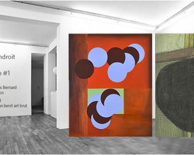 works by leopold strobl in the gallery thomas bernard in paris