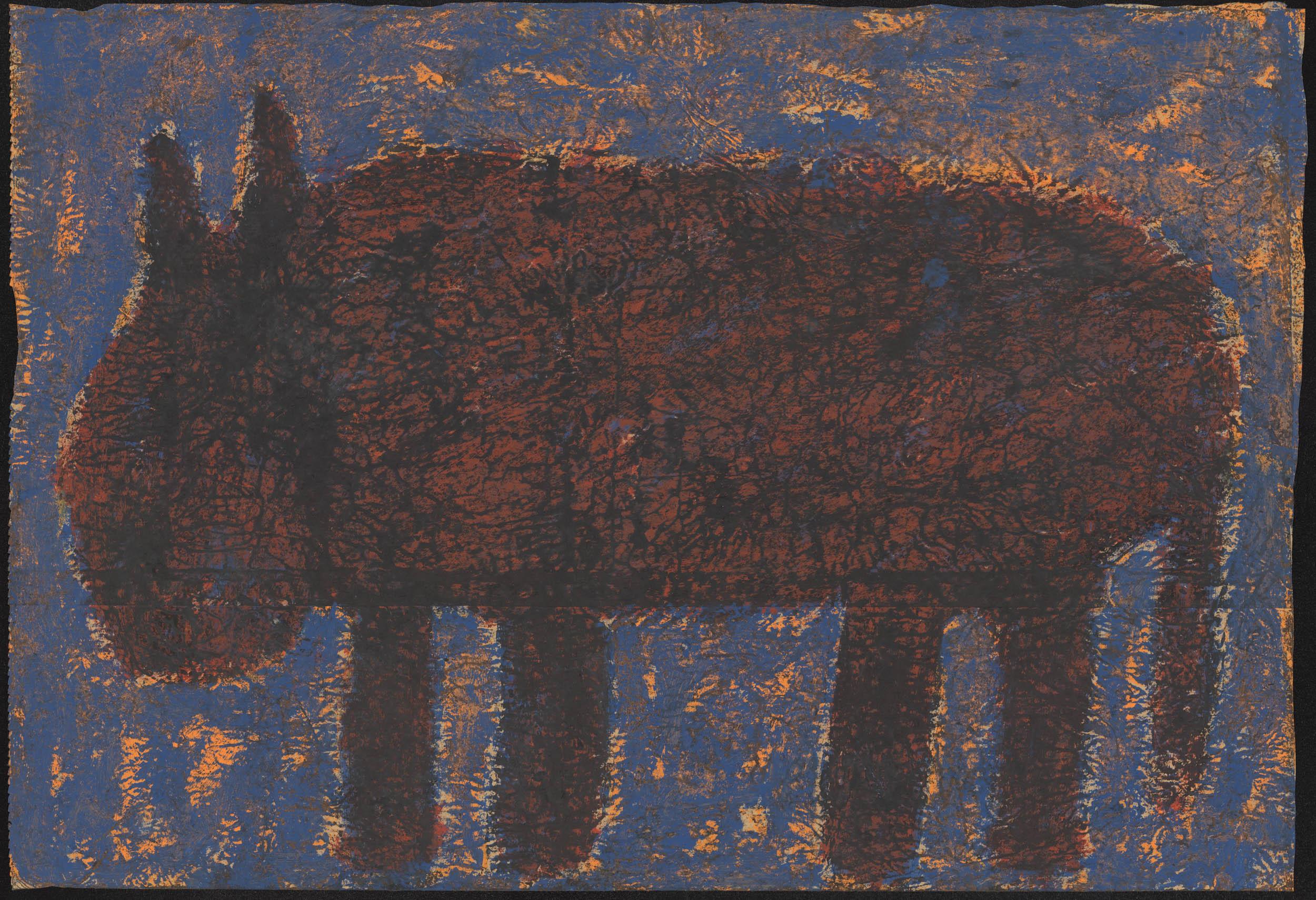nedjar michel - untitled | Paris Belleville 1988