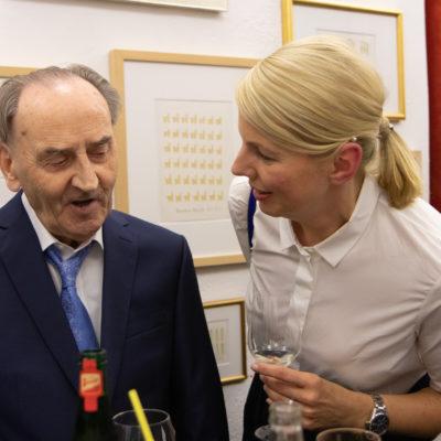 Heinrich Reisenbauer im Gespräch mit Uli Simonis