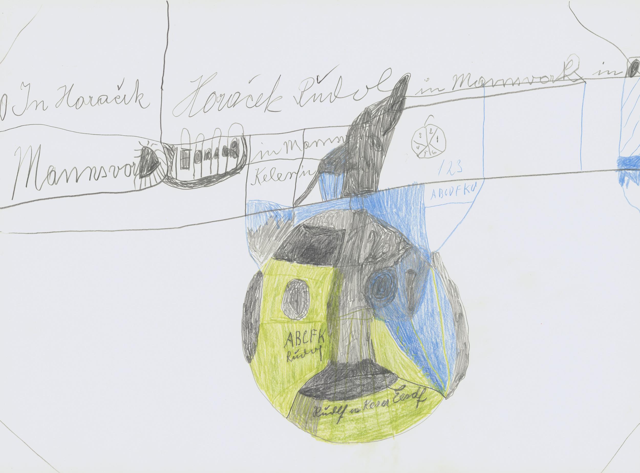 horacek rudolf - ohne titel / untitled