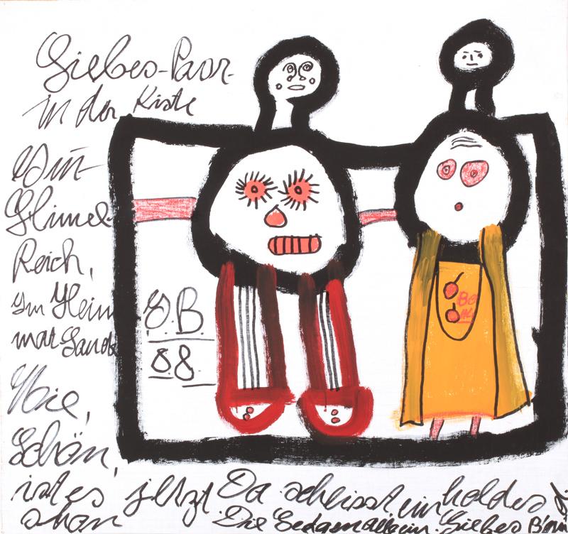 buchmann ida - Liebes-Paar in der Kiste / lovers in the box