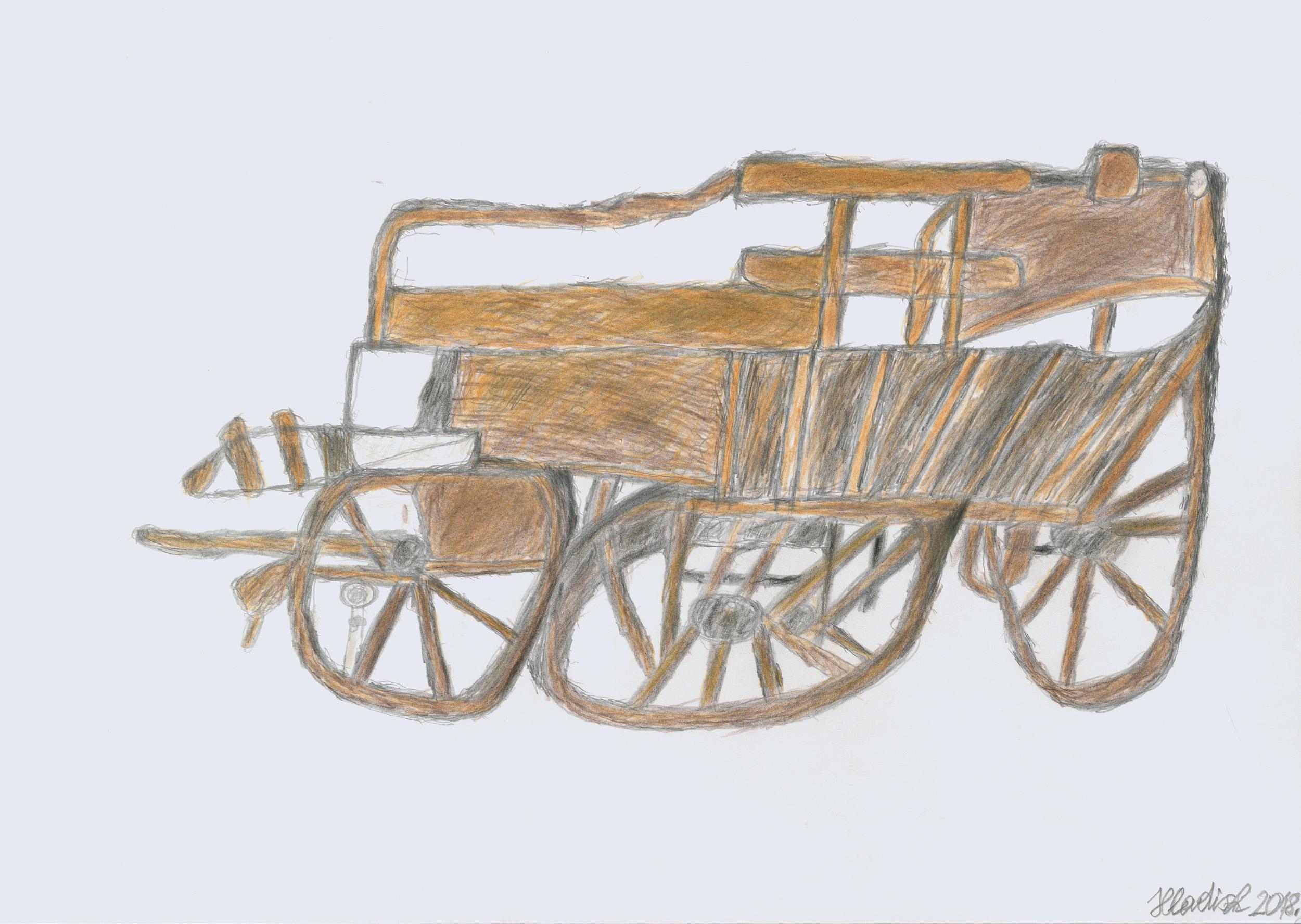 hladisch helmut - Leiterwagen / Hay cart