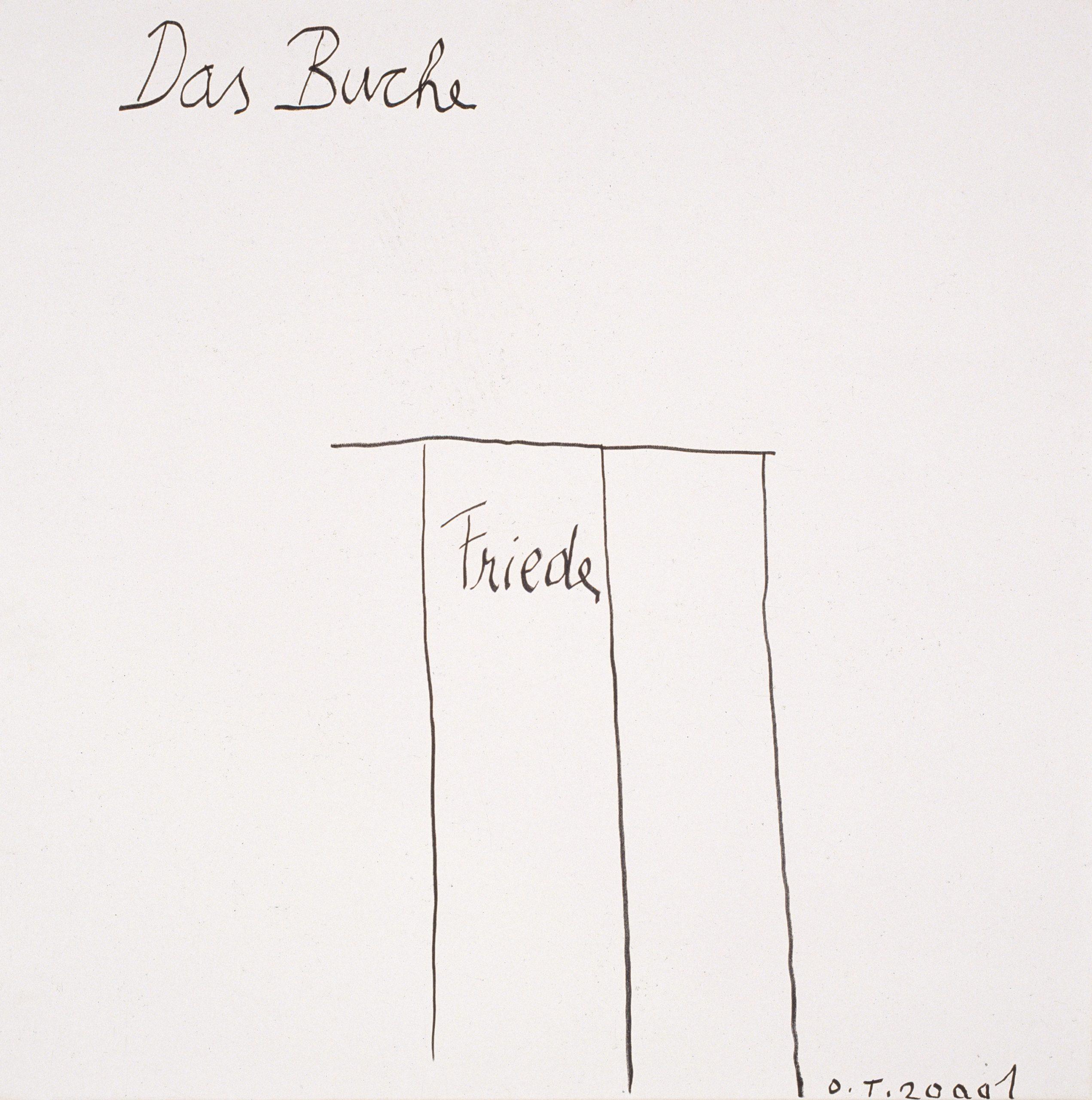 tschirtner oswald - Das Buche / The book