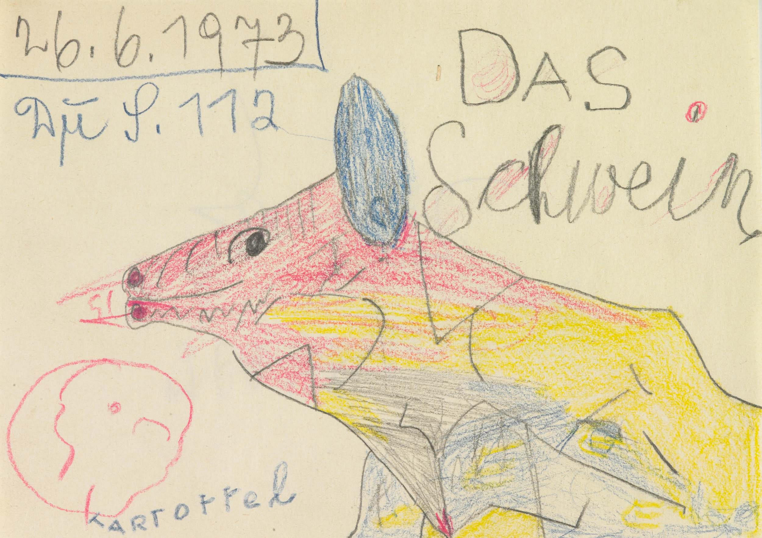 herbeck ernst - Das Schwein / The pig