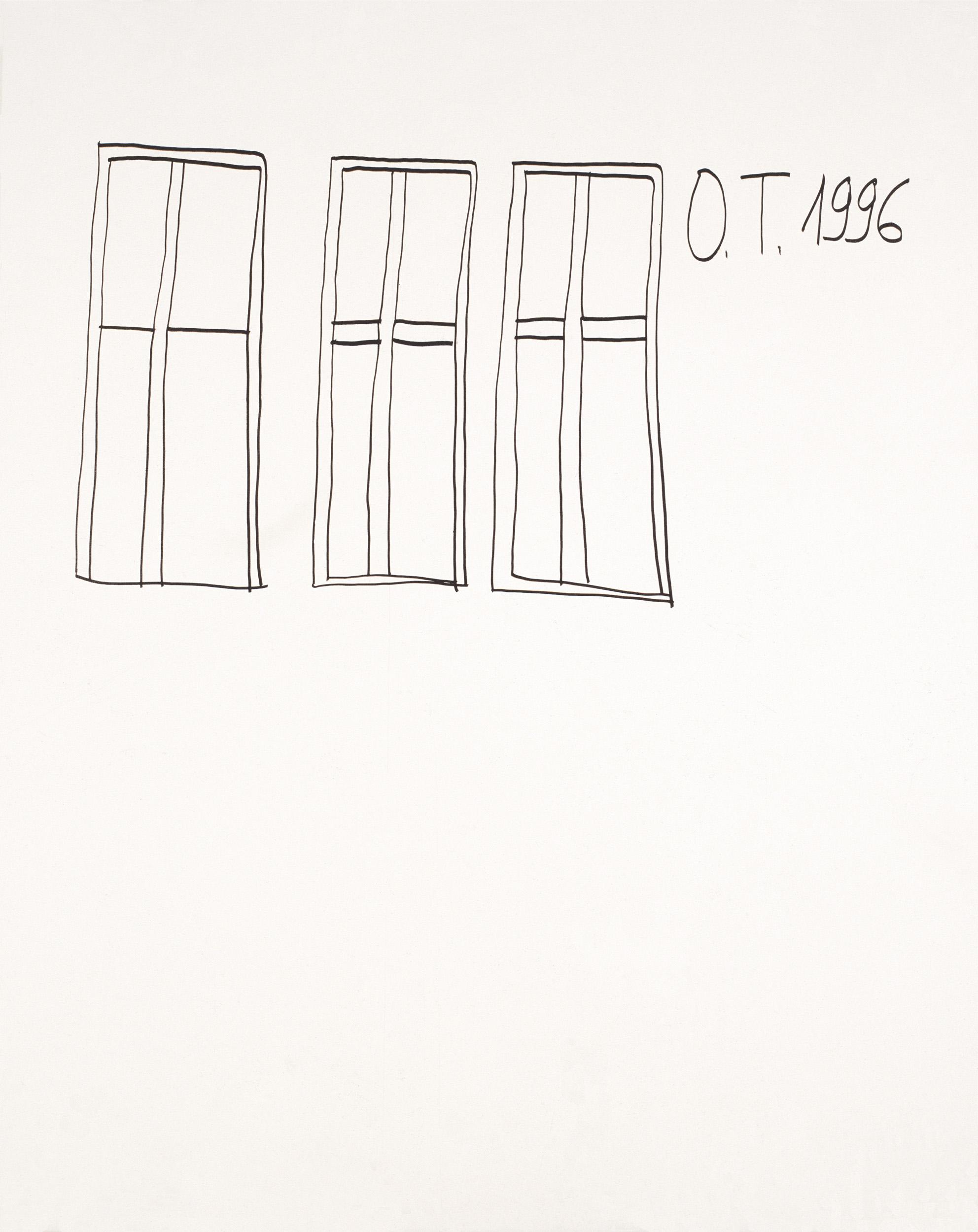 tschirtner oswald - Drei Fenster / Three Windows