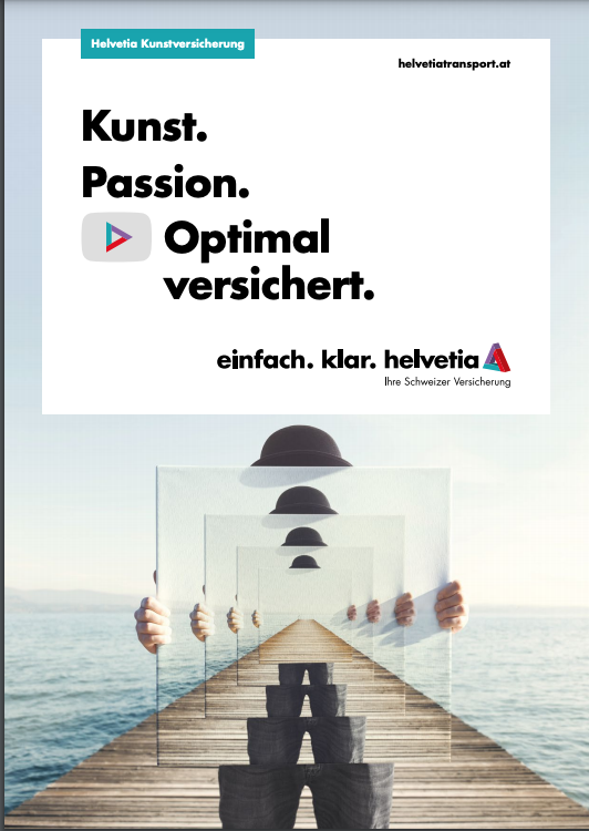 NEW: Folder Art Insurance HELVETIA: Art. Passion. Ideally insured.