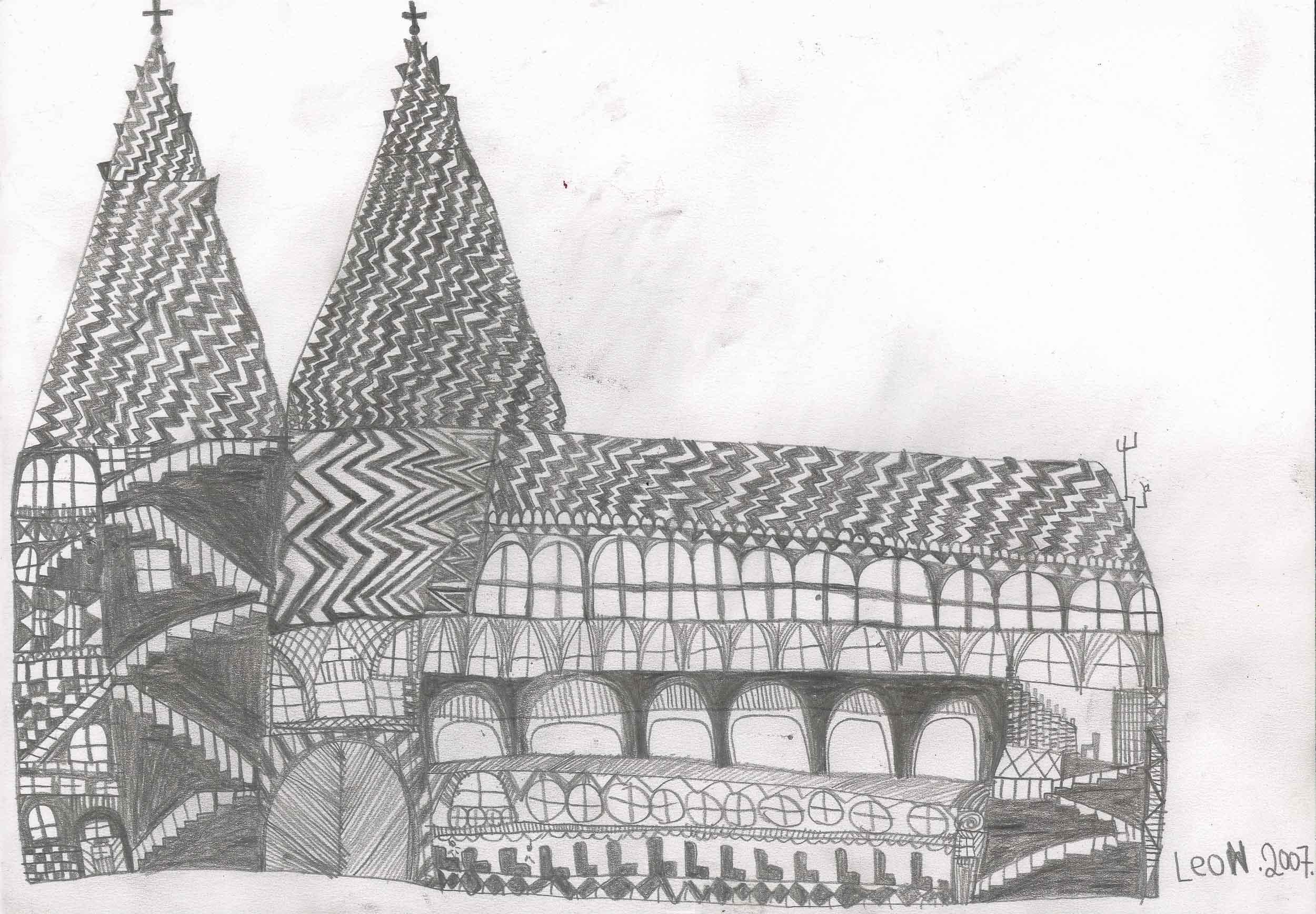 fink leonhard - Die Stephanskirche / St. Stephen's Cathedral