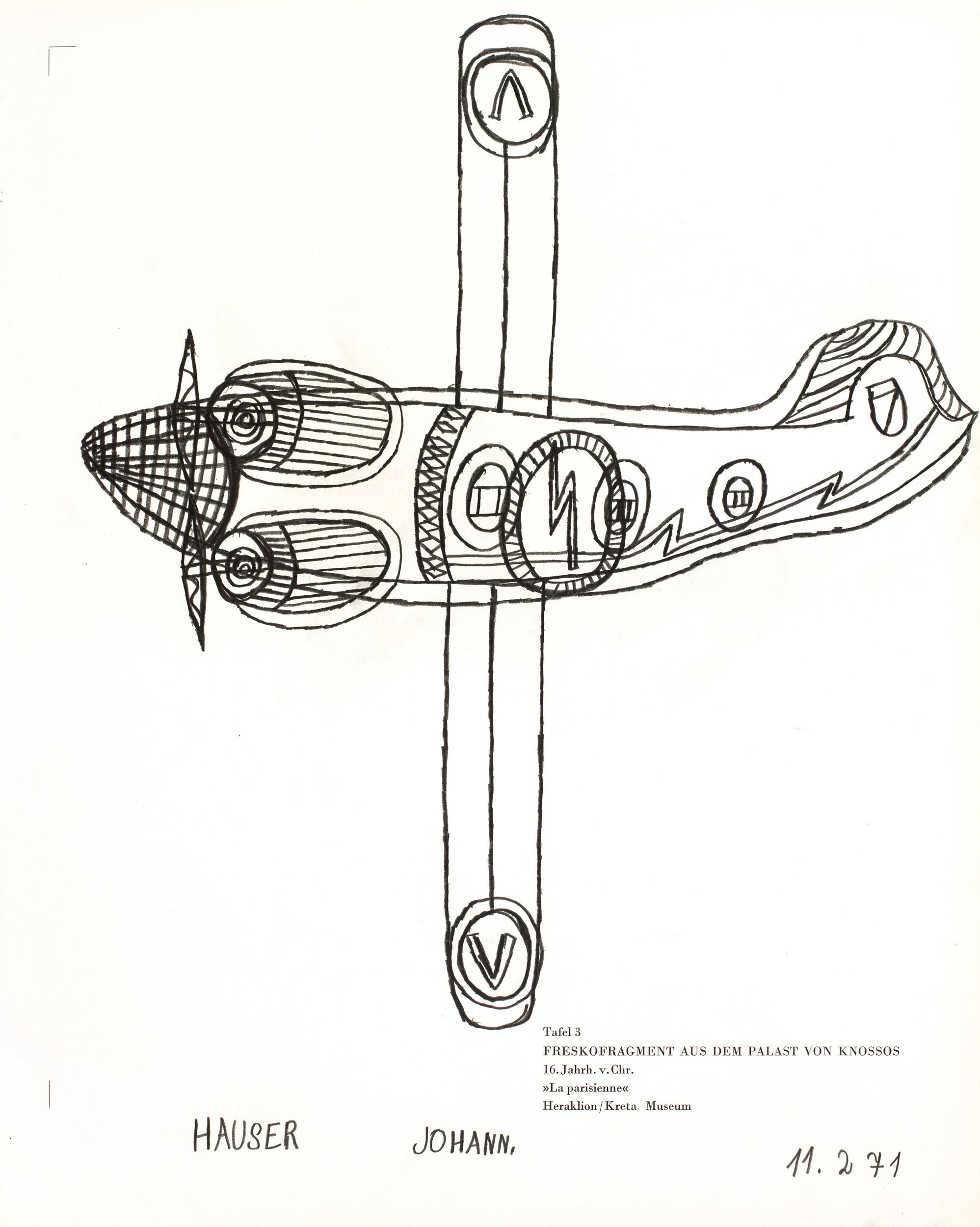 hauser johann - Flugzeug / Aeroplane