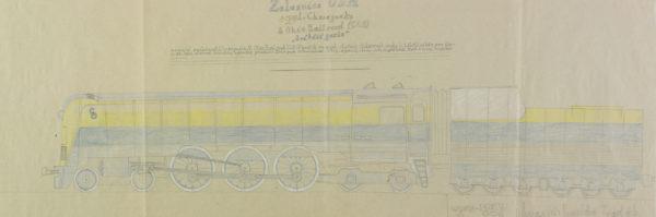 "Železnice USA spol. Chesapeake & Ohio Railroad (C&O), ""Svitici perla"", opus: č 257"