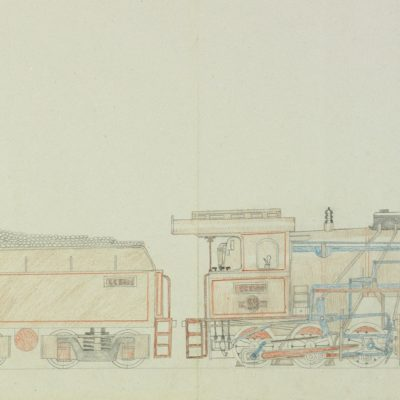 Holandská parni lokomotiva CC 50 opus: č 443