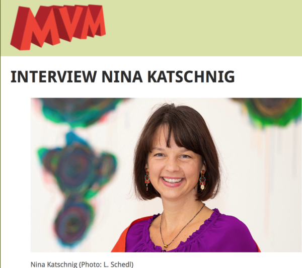 An interview with Nina Katschnig for MVM Donaukultur