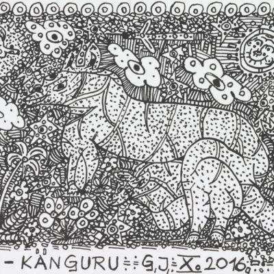 ein-känguru/a-kangaroo