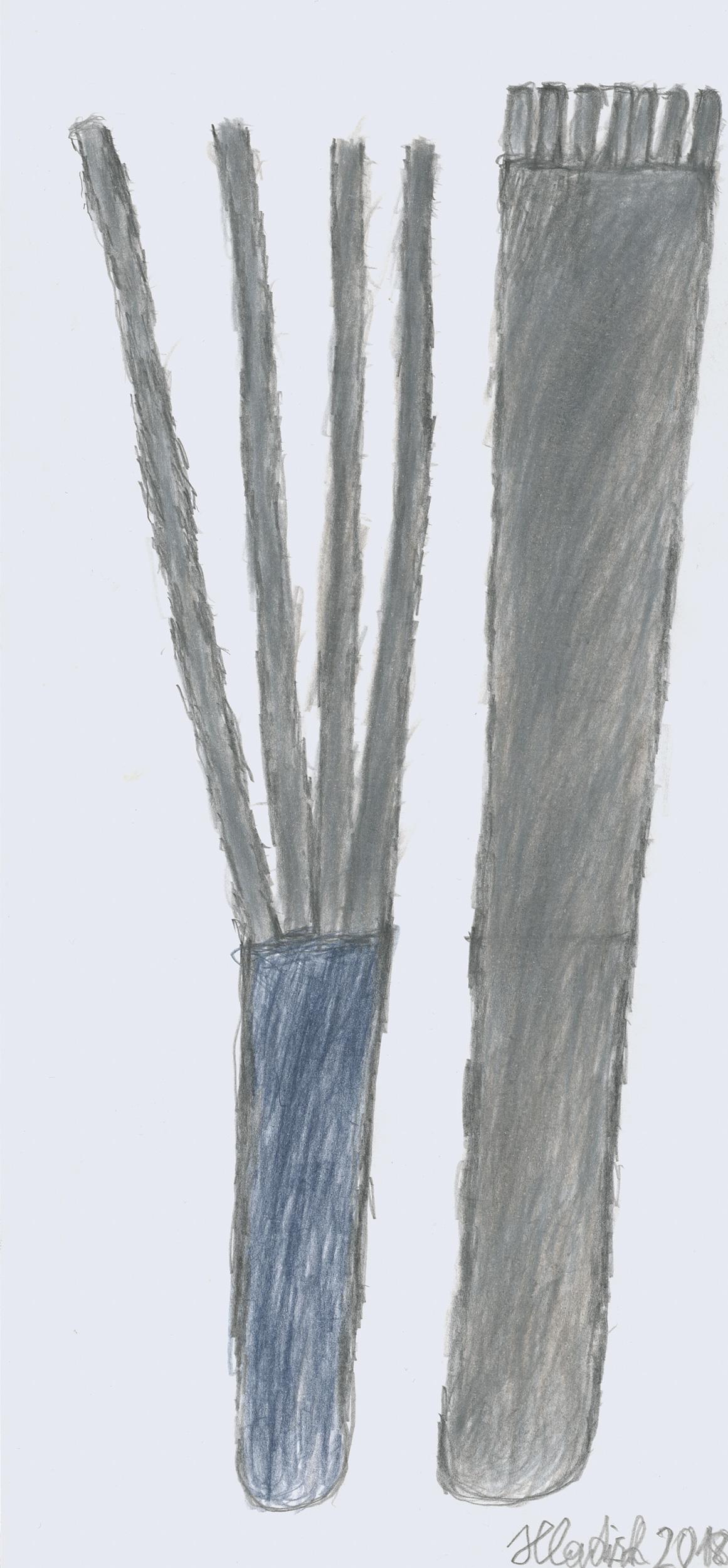 hladisch helmut - Gabel + messer / folk + knife