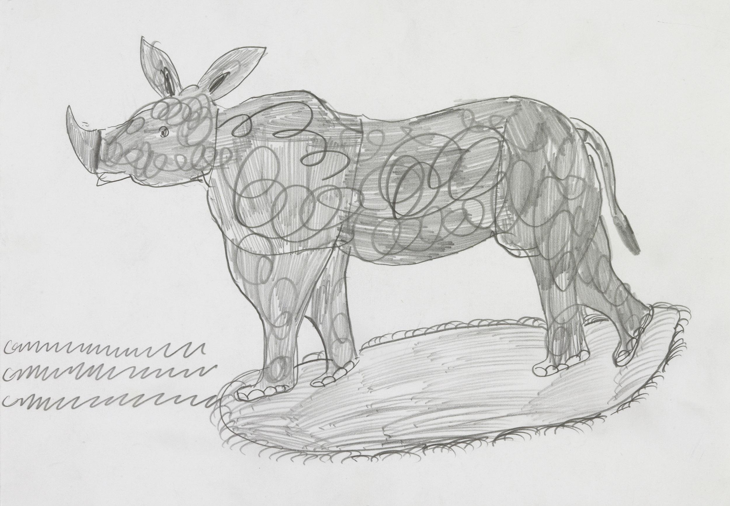 kamlander franz - nashorn / Rhinoceros