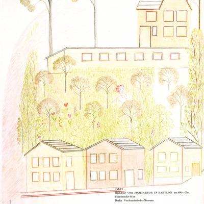 Häuser und Landschaft / houses and landscape