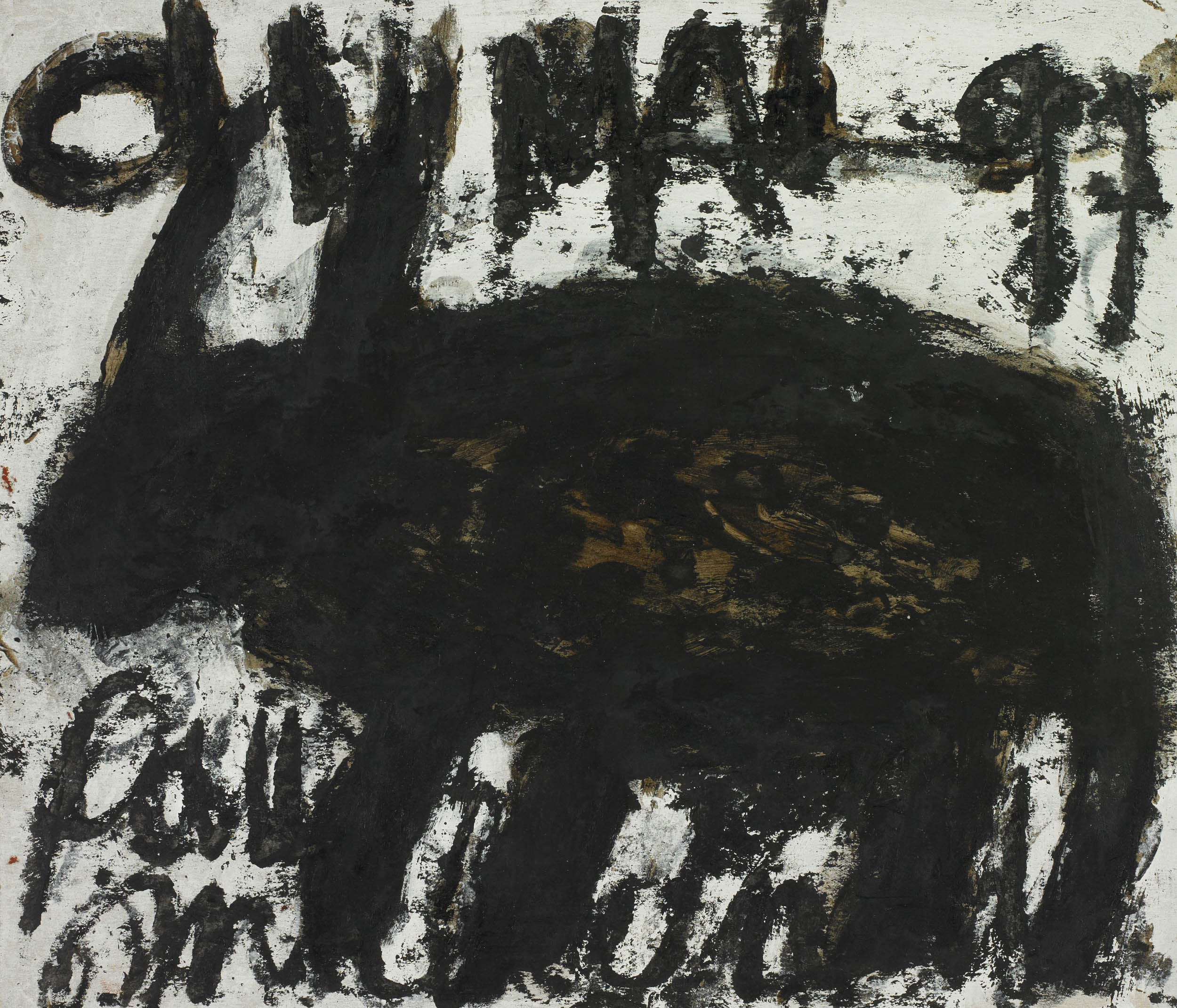 nedjar michel - untitled | Paris Darius 1997