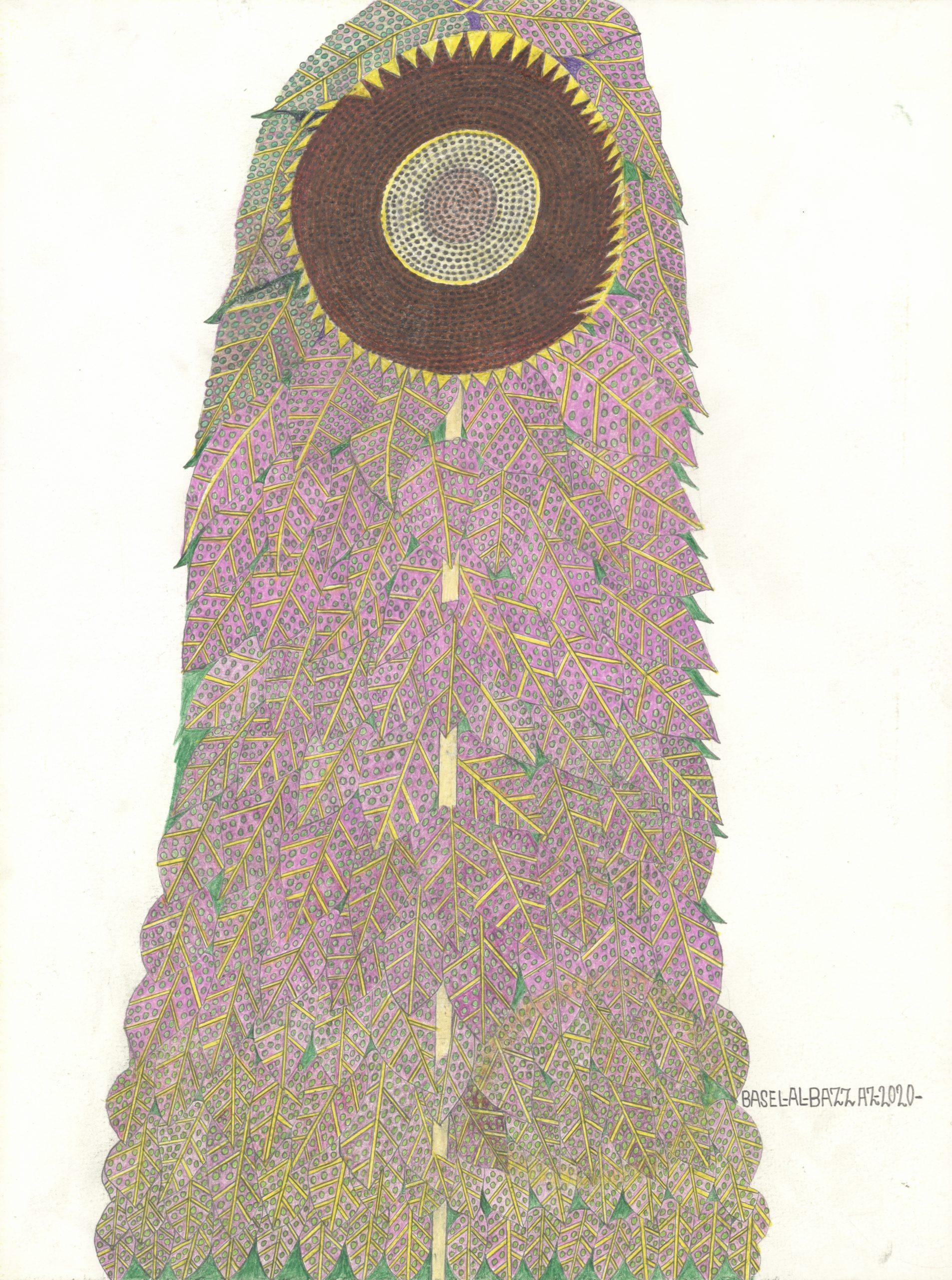 al-bazzaz basel - Blume im Kleid / Flower in dress