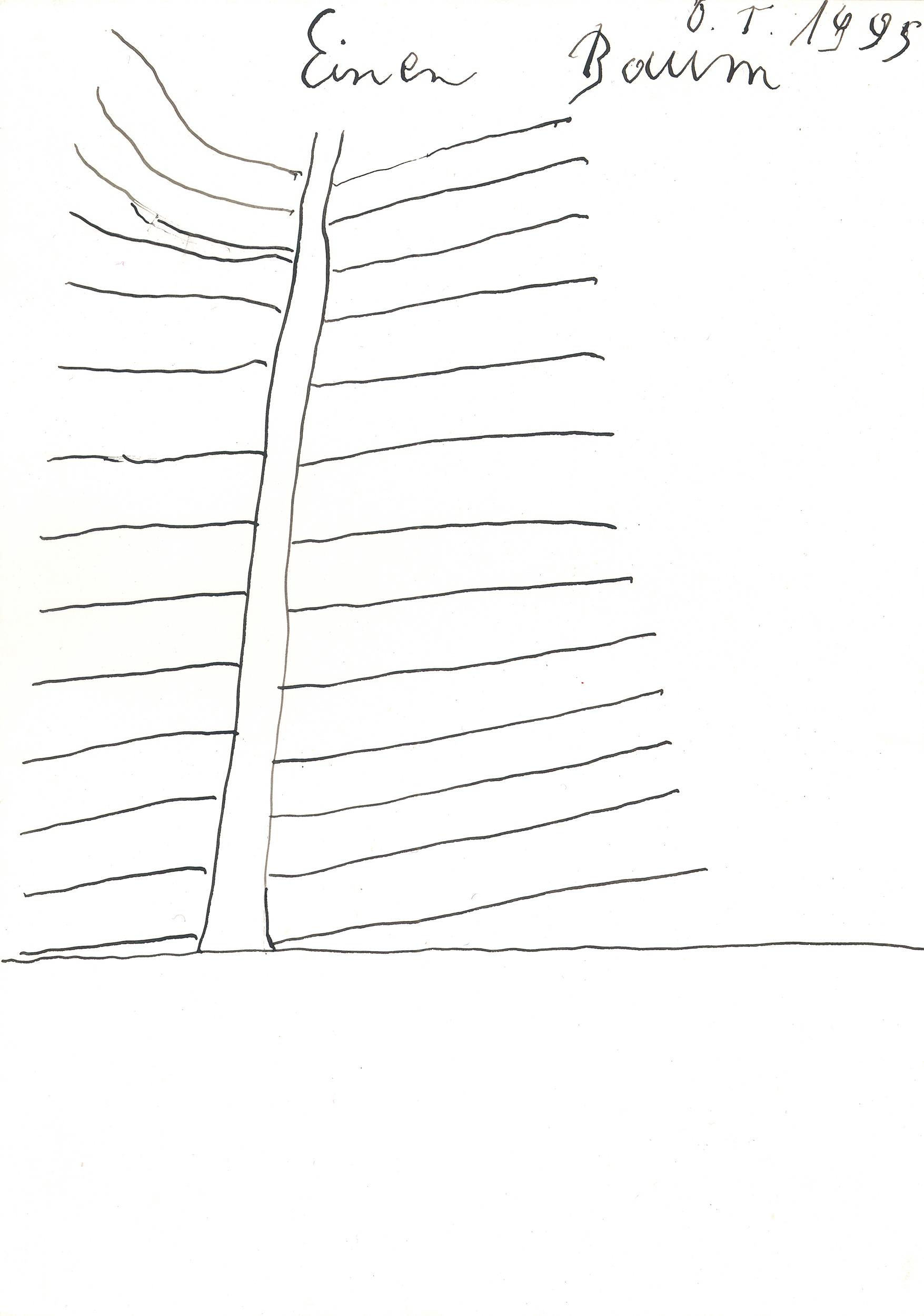 tschirtner oswald - Ein Baum / A tree