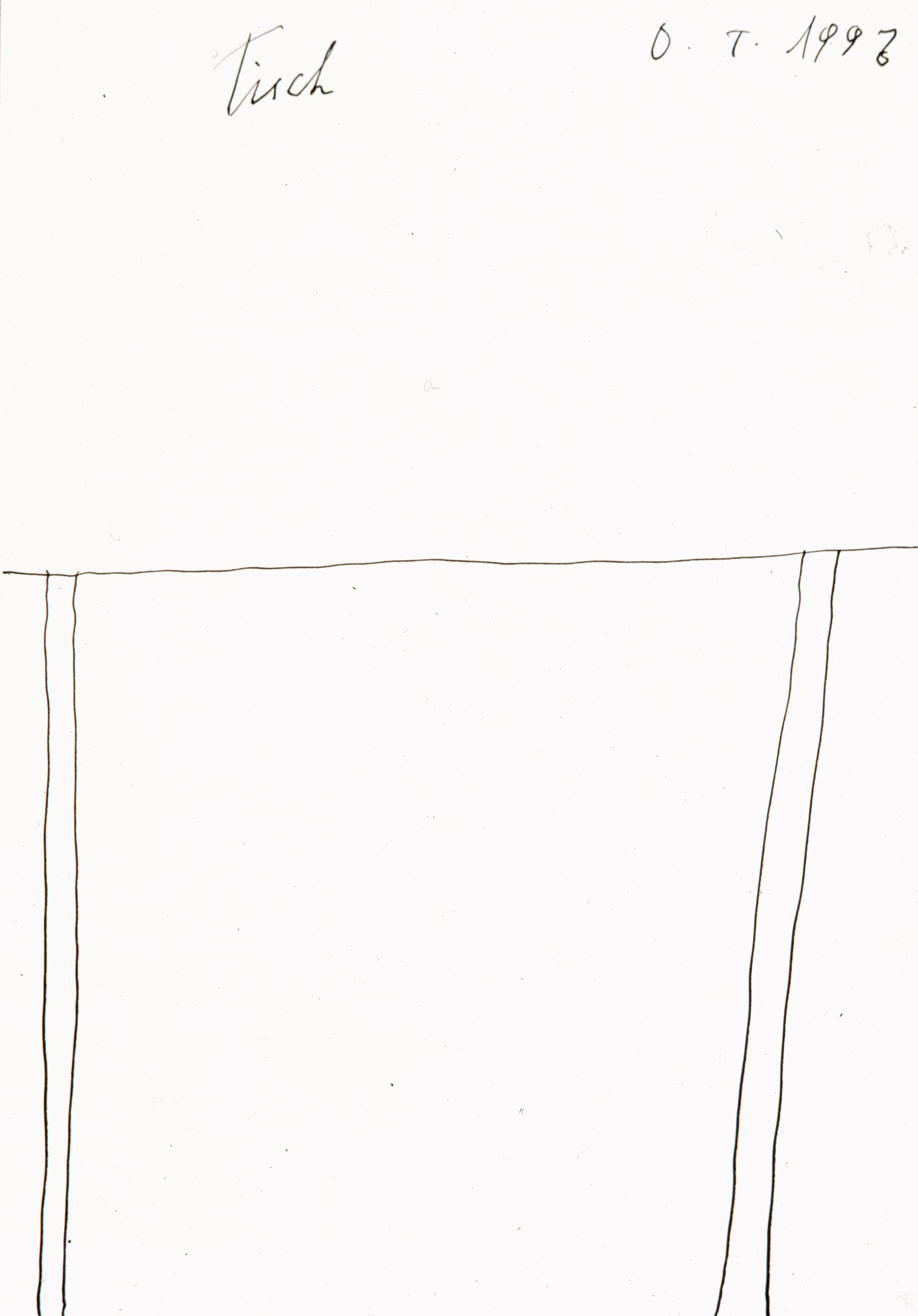 tschirtner oswald - Tisch / Table