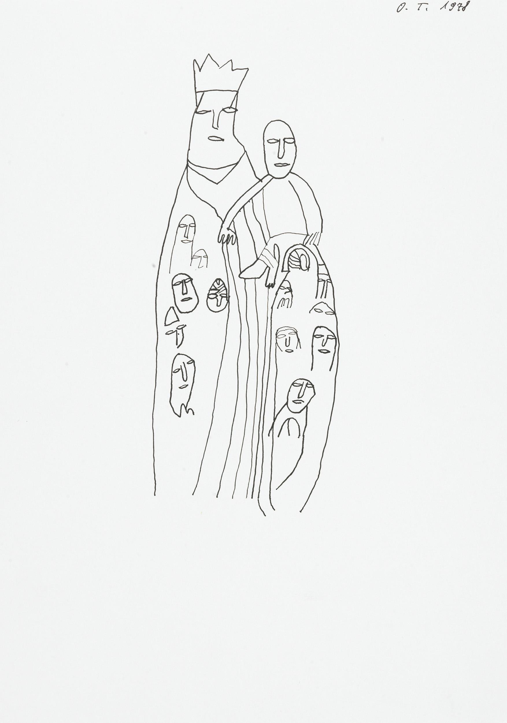 tschirtner oswald - madonna mit kind / madonna with child