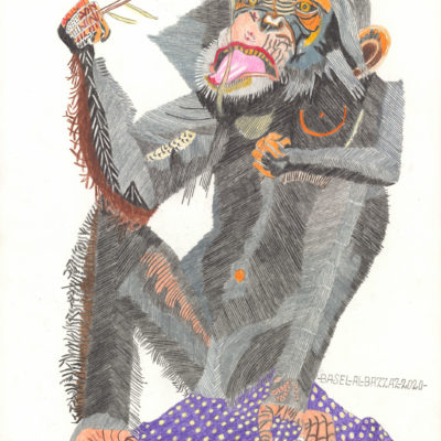 Schimpansenjause / Chimpanzee snack