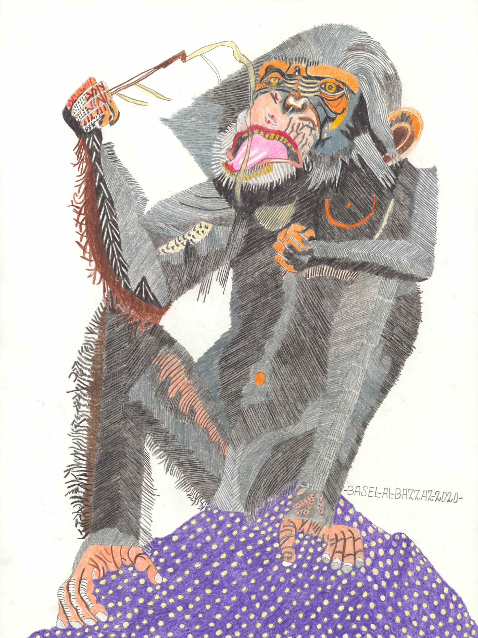 al-bazzaz basel - Schimpansenjause / Chimpanzee snack