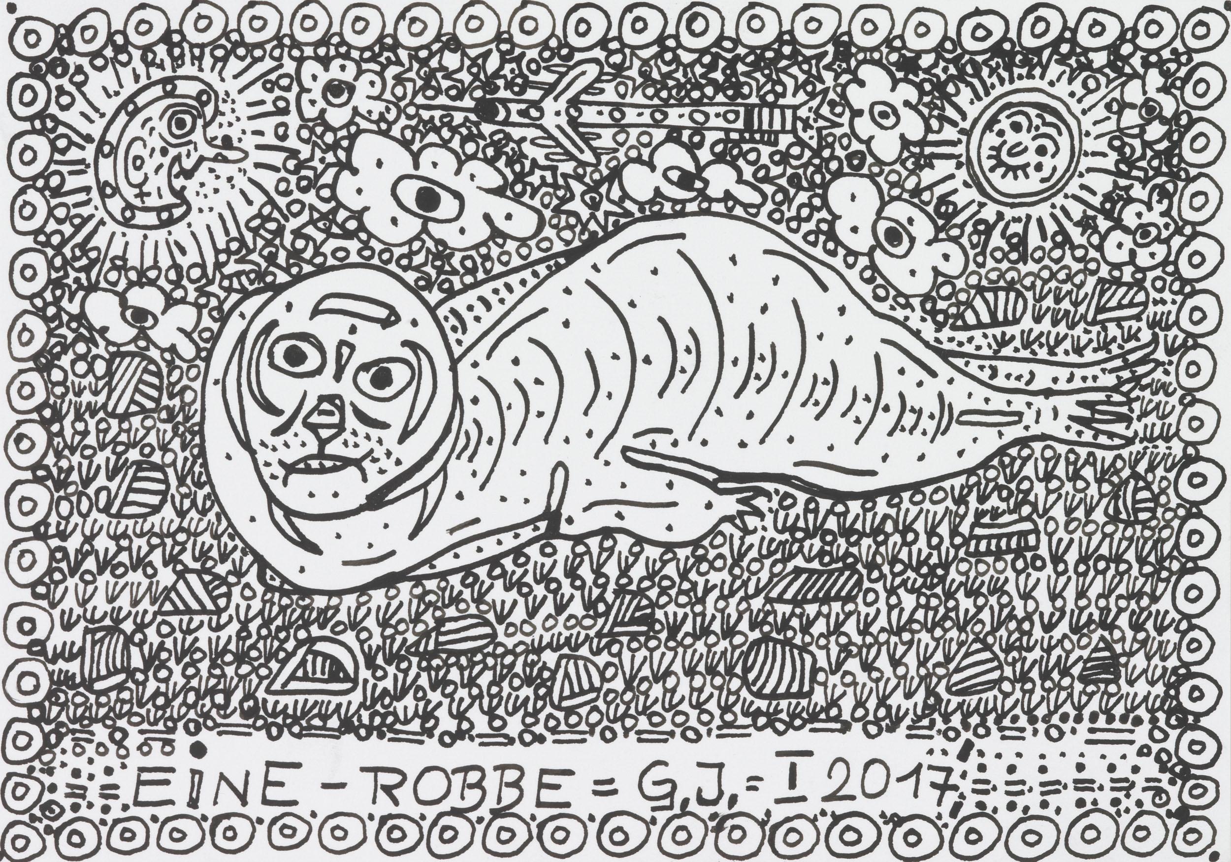 garber johann - EINE-ROBBE / A-SEAL