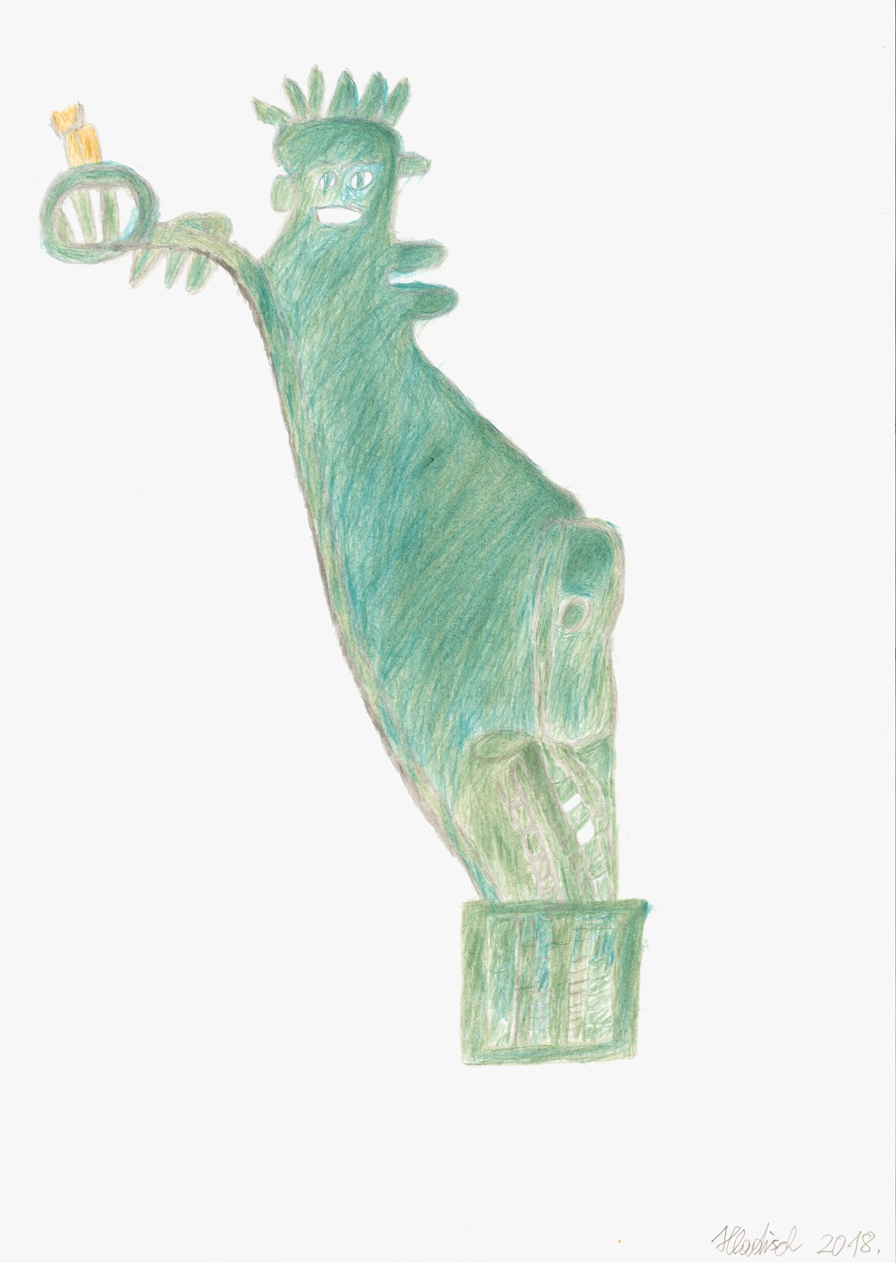 hladisch helmut - Freiheitstatue / Statue of liberty