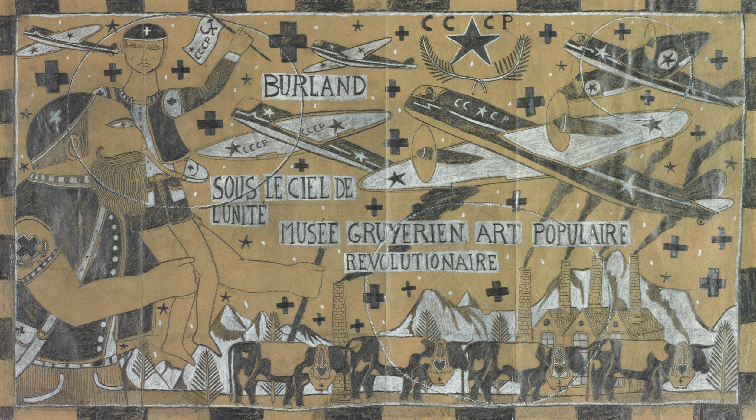burland françois - Sous le ciel de l'unité