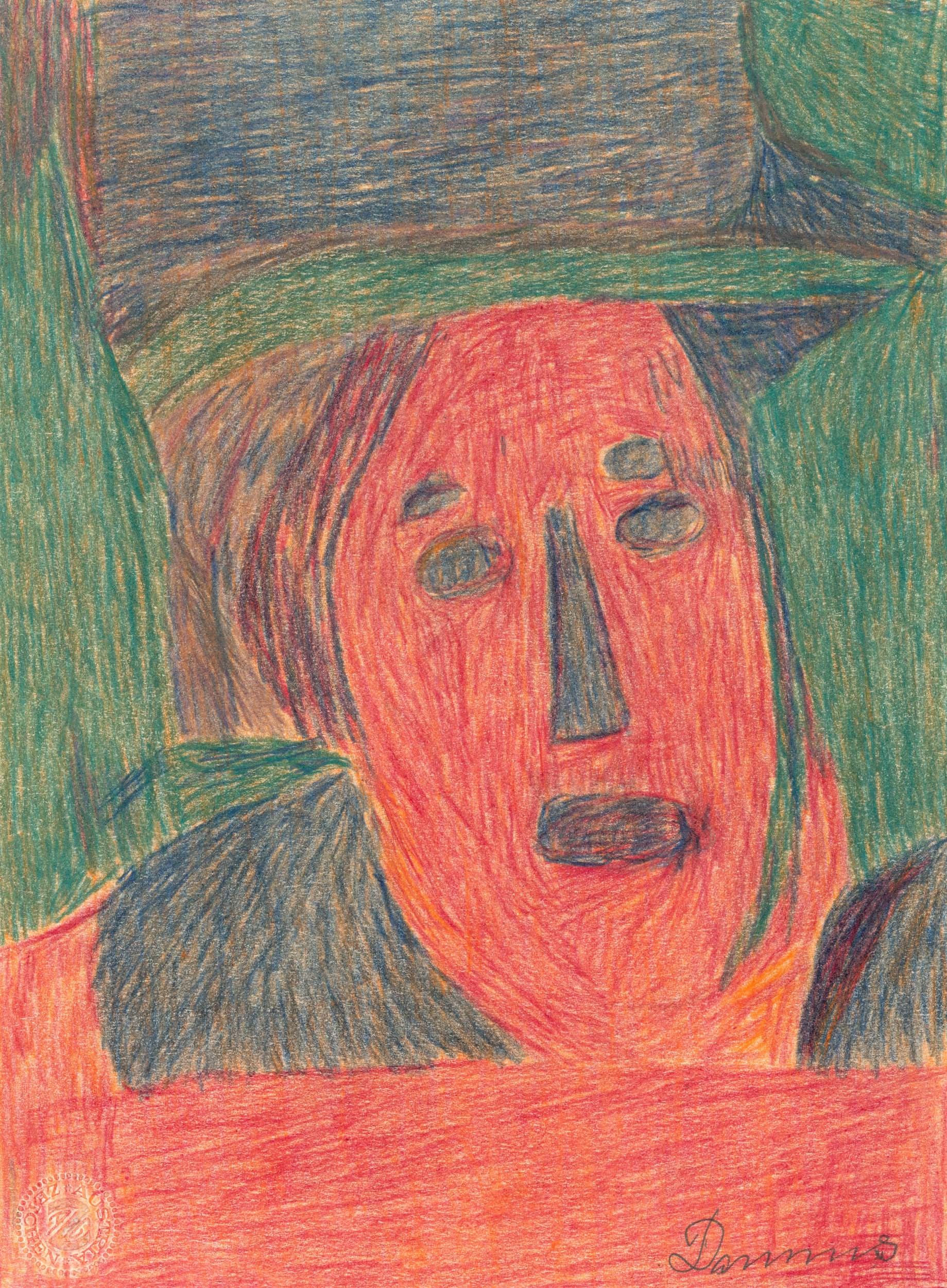 dobay anton - Kopf nach Lucas Cranach d.Ä. / Head after Lucas Cranach the Elder