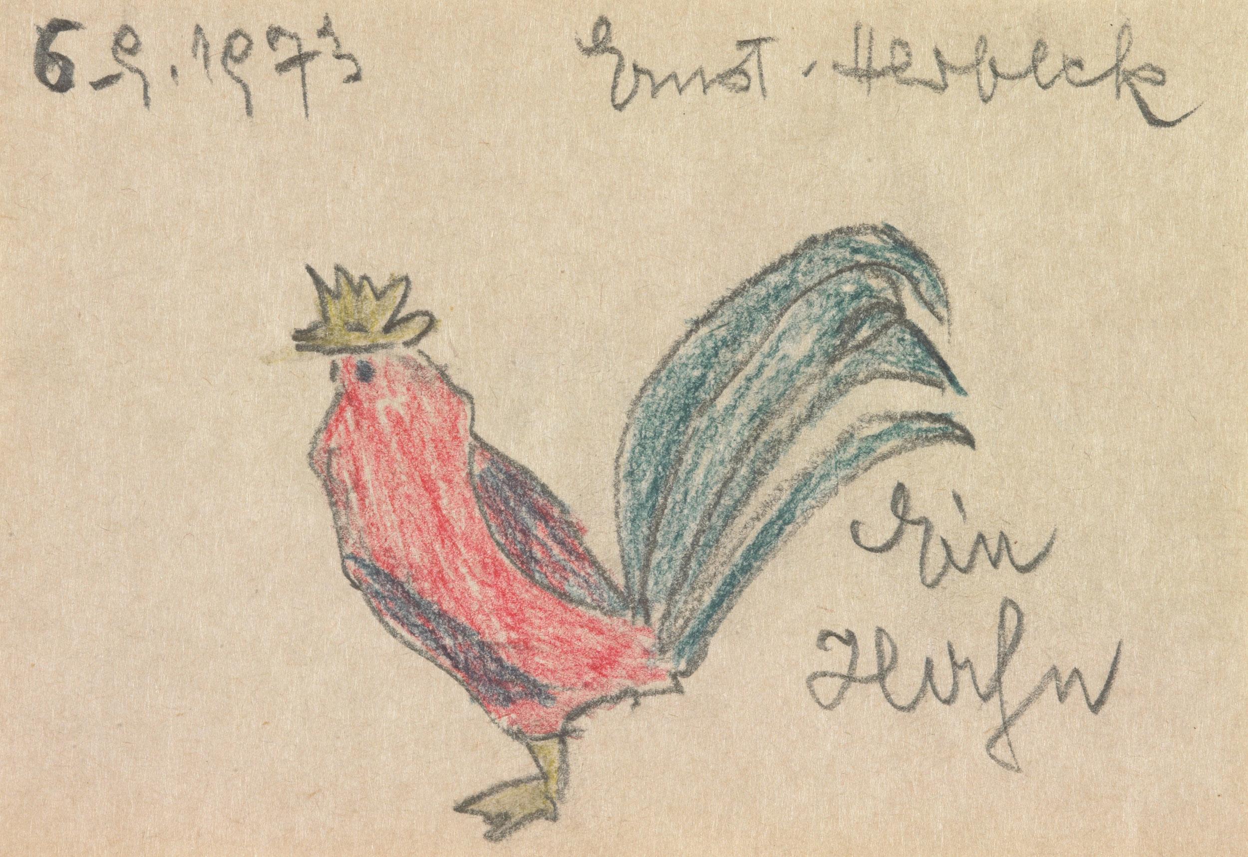 herbeck ernst - Ein Huhn / A Chicken