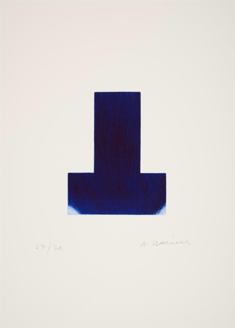 rainer arnulf - BLAUE SCHARTE / BLUE NICK