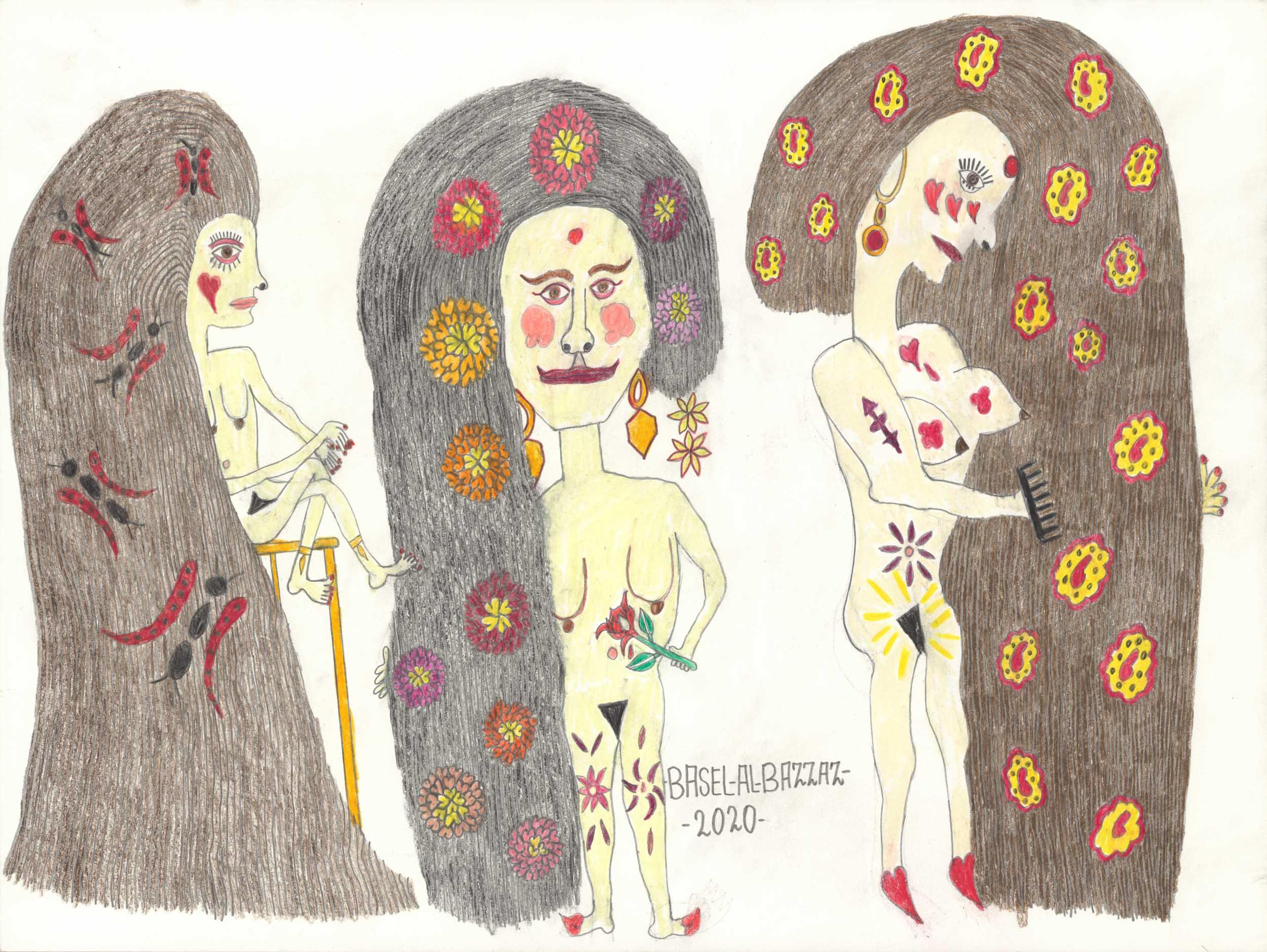 al-bazzaz basel - Mädels mit vollem Haar / Girls with thick hair