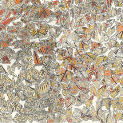 Viele Schmetterlinge / Many butterflies