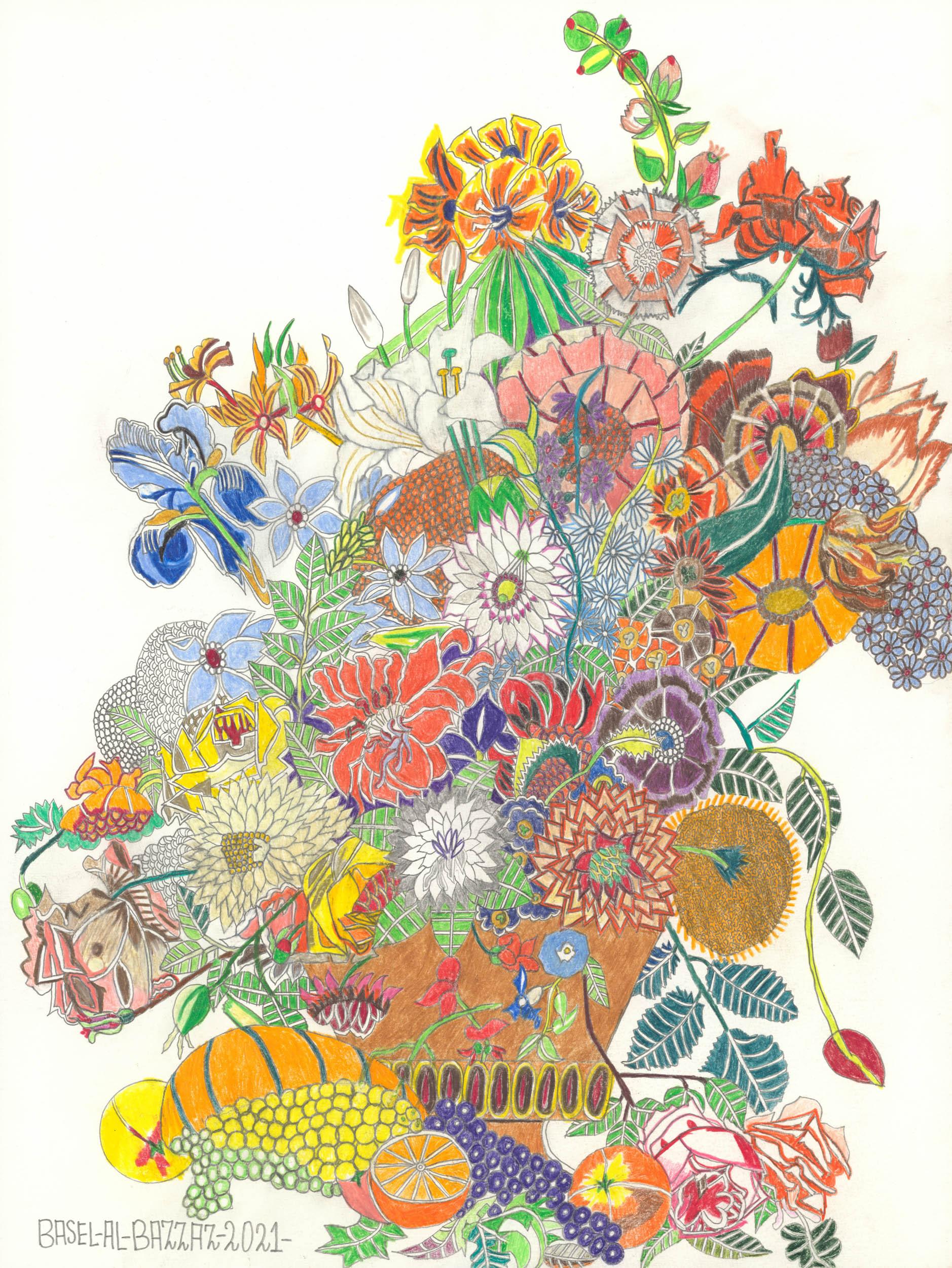 al-bazzaz basel - Kleiner Blumenstrauß / Small bouquet