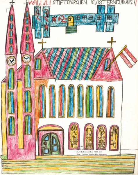 STIFTSKIRCHEN, KLOSTERNEUBURG.! / ABBEY CHURCHES, KLOSTERNEUBURG.!