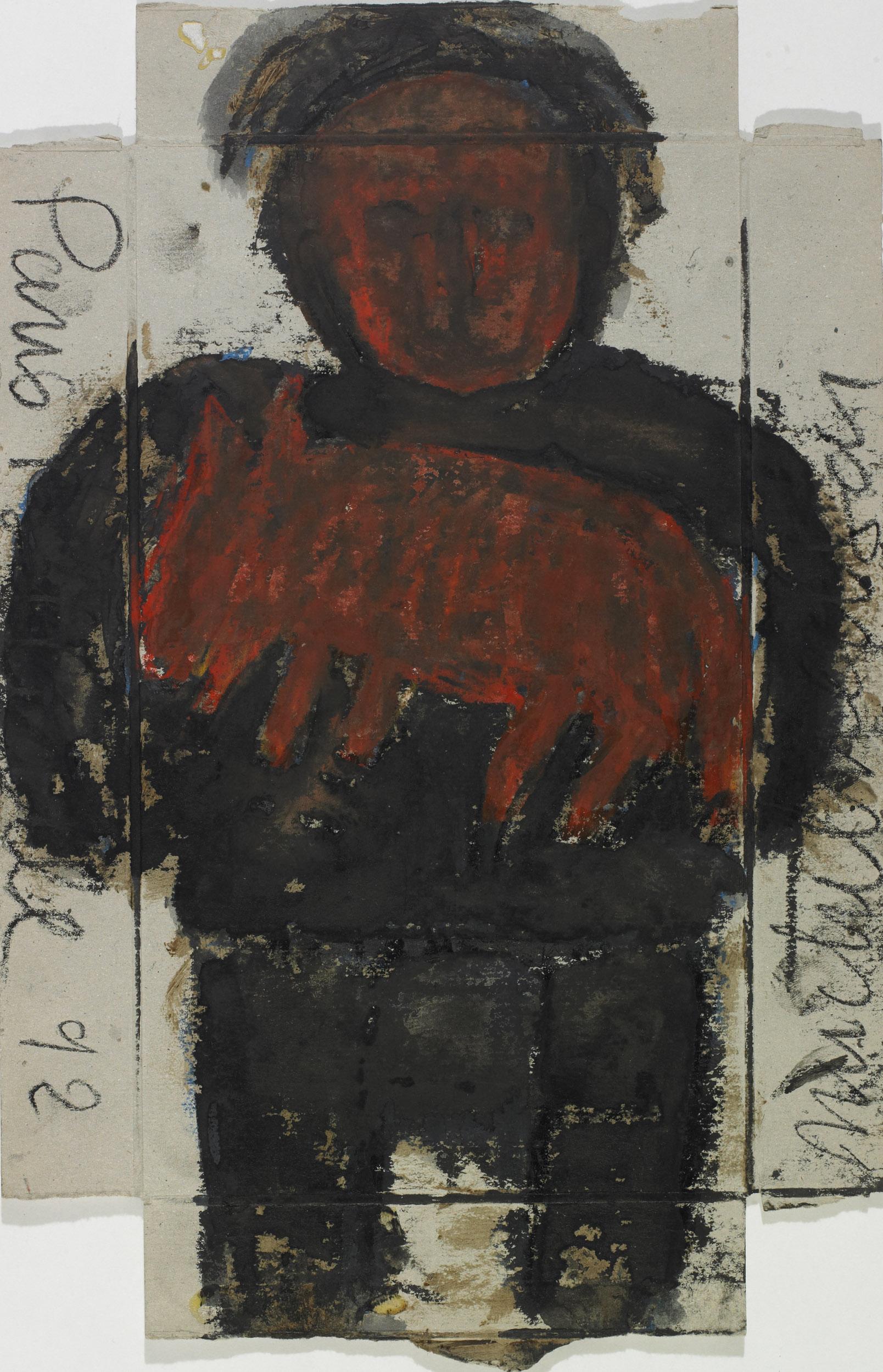 nedjar michel - untitled | Paris Belleville 1992
