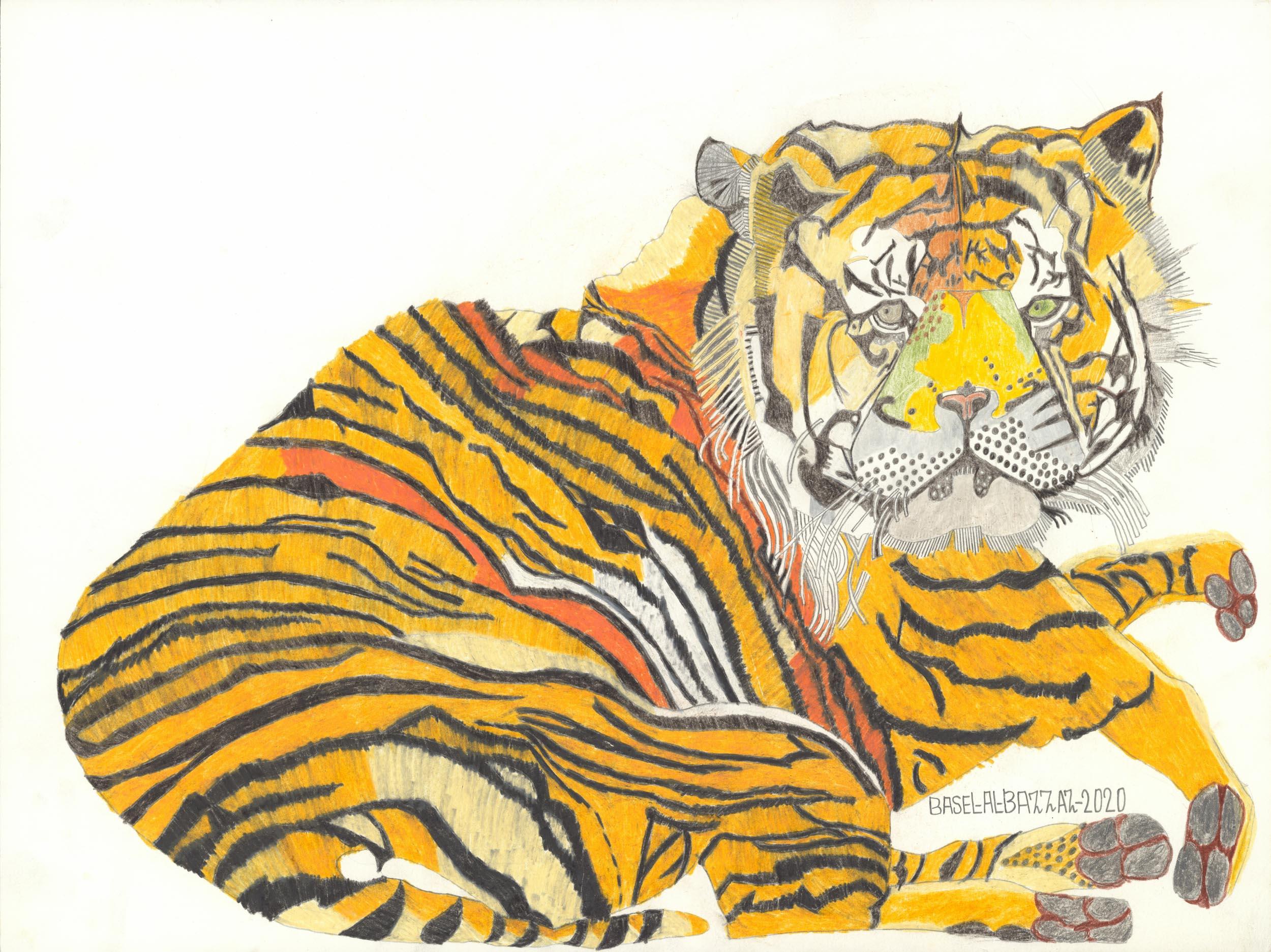 al-bazzaz basel - großer tiger/big tiger