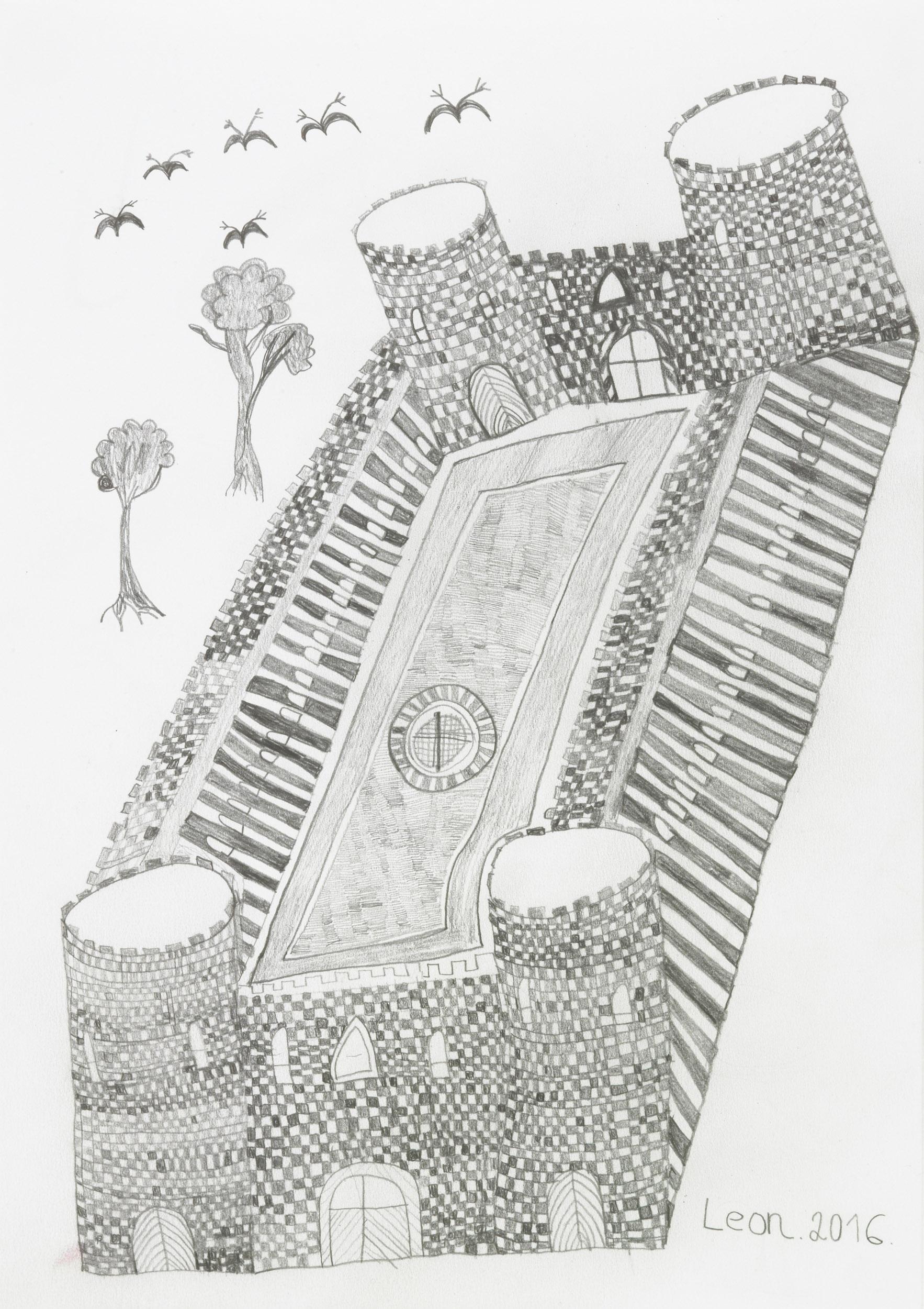 fink leonhard - The Castle of Cymrue of Wales