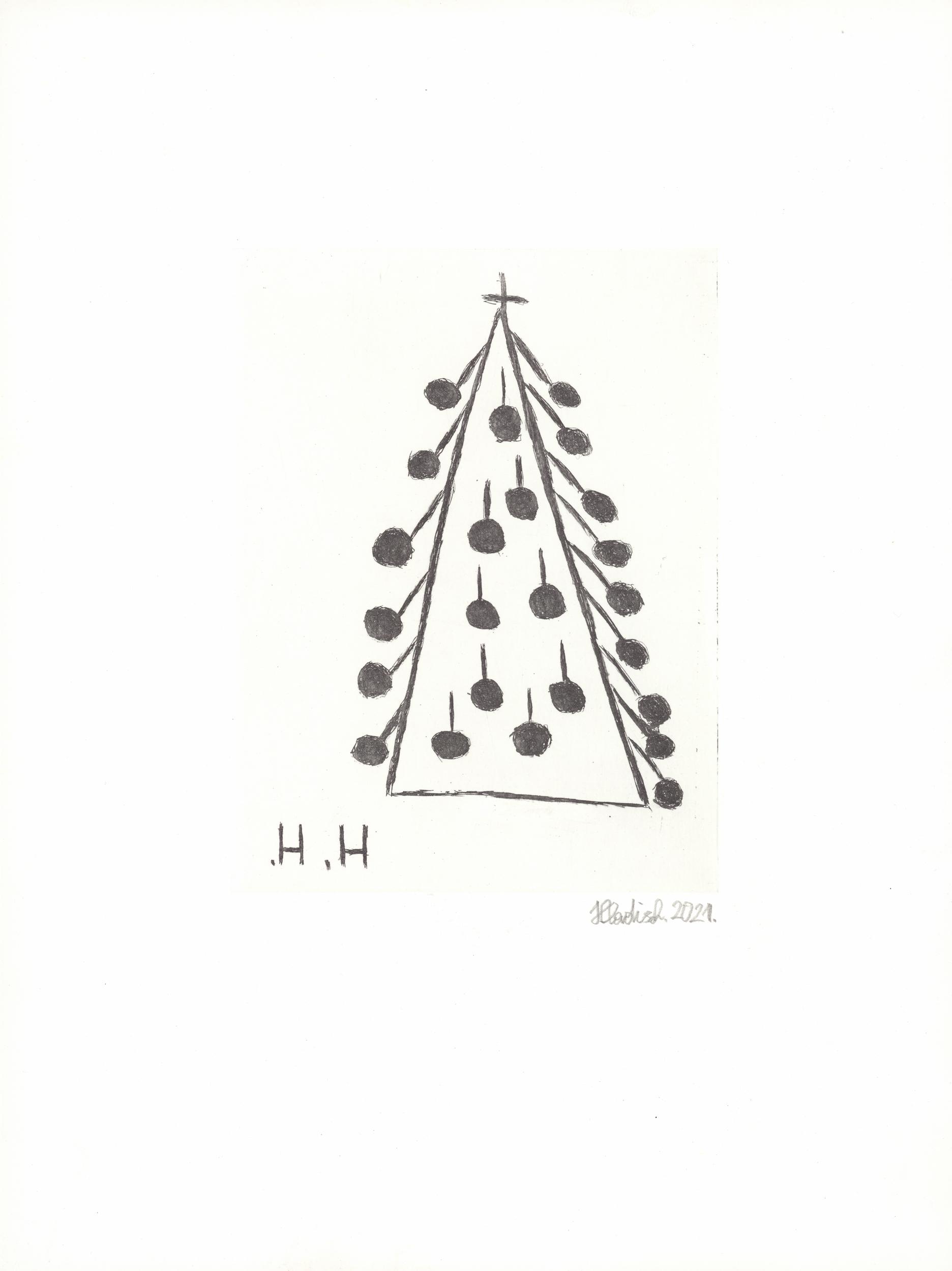 hladisch helmut - Weihnachtsbaum / Christmas tree