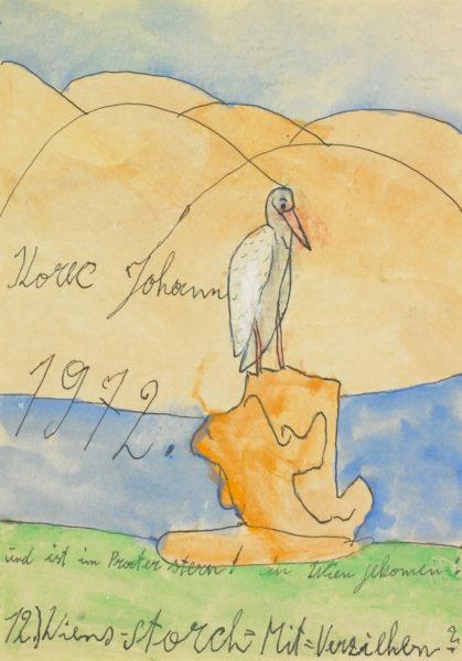 Wiens-Storch / Vienna stork - korec johann