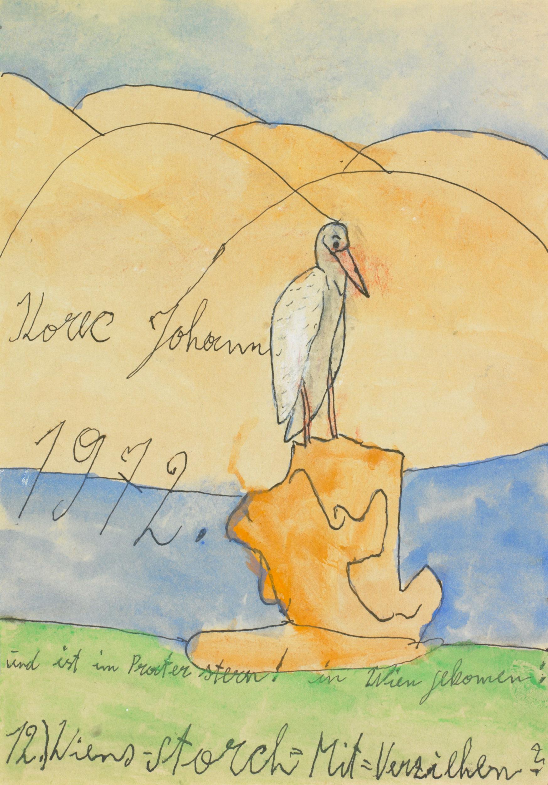 korec johann - Wiens-Storch / Vienna stork