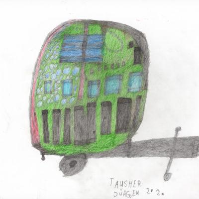 Ein Wohnwagen/ A caravan