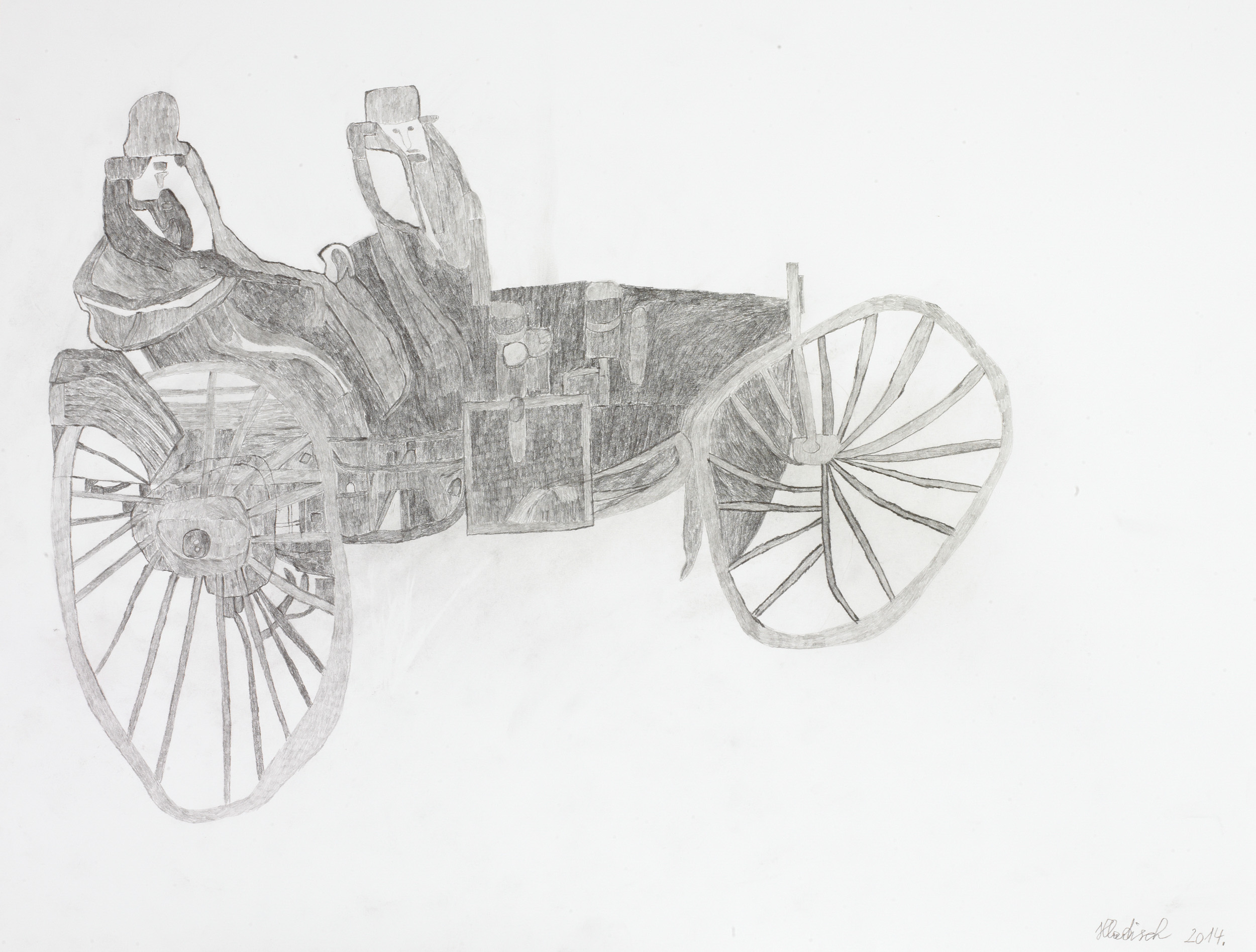 hladisch helmut - Motorwagen / Motor vehicle