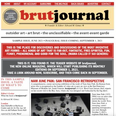 brut journal by edward m. gómez