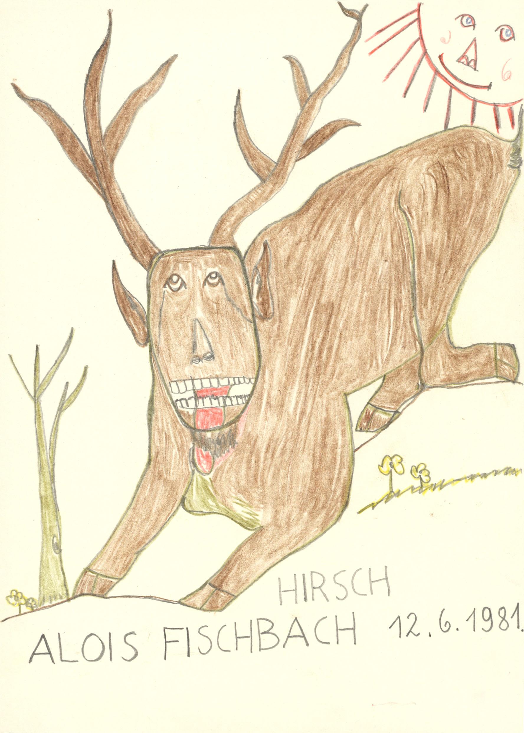 fischbach alois - Hirsch / Deer
