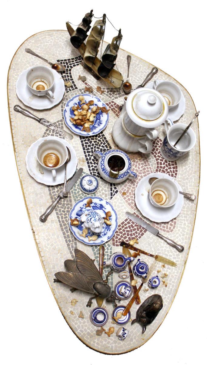 Faux Tableau piège Série Mosaiques des annés ` 50
