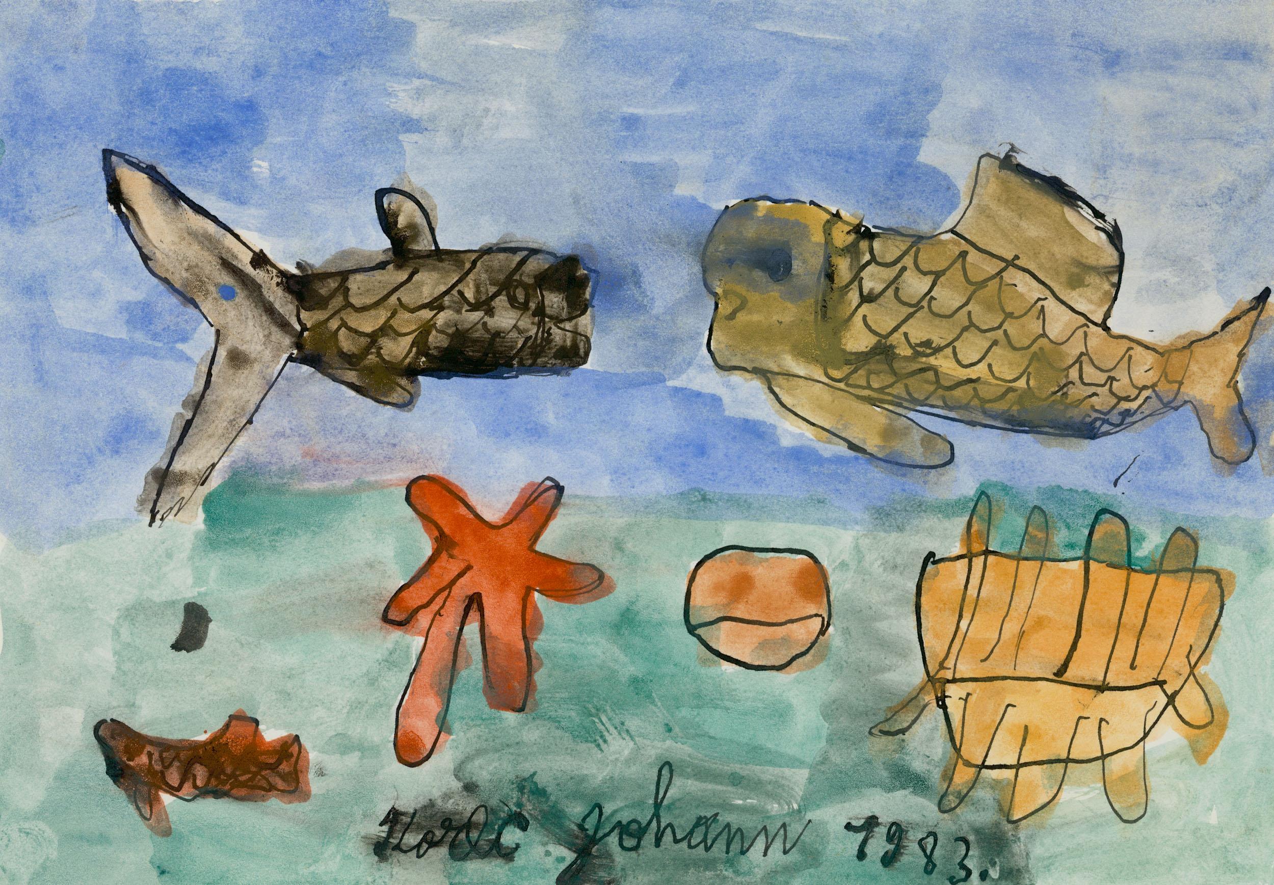 korec johann - Fische / Fish